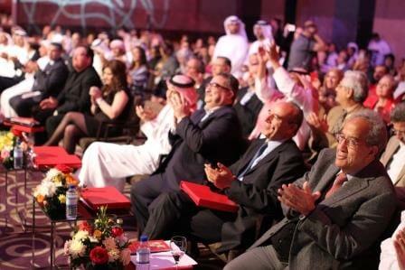 Crowd applauds Alsanoussi. Photo courtesy IPAF, Kheredine Mabrouk.