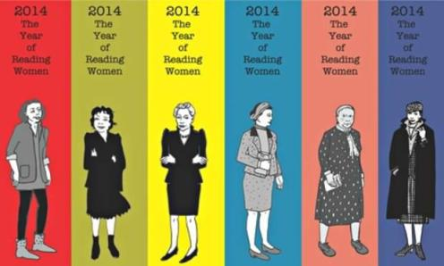 """Joanna Walsh's """"year of reading women"""" bookmarks."""