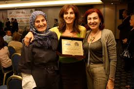 After winning a book prize at the Beirut Book Fair for her YA novel Faten, which has been translated into English and, most recently, into Turkish.