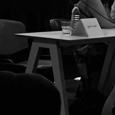 Where Ahmed Naji should be sitting at the Arabic Novel Symposium.