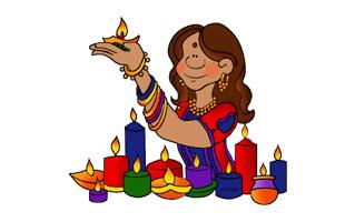 Diwali Mehndi Design