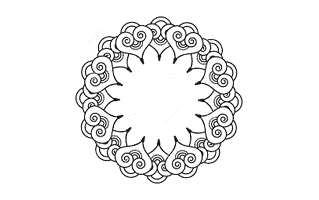 Gol Tikki Mehndi Design