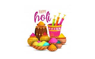Holi Mehndi Design