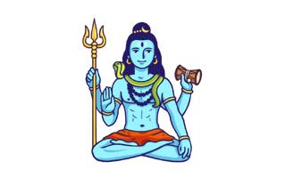 Shiva Mehndi Design