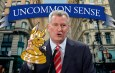 New York City mayor Bill de Blassio comments on NYC safety