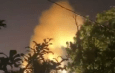 Large explosion at a power facility in Puerto Rico, reportedly at Ciales Energy Supply. (Video)