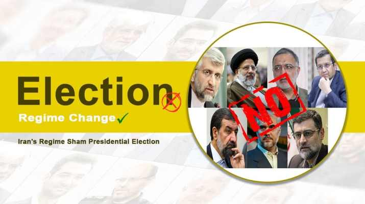 The Iranian regime will hold its sham presidential election on June 18. While there are seven so-called candidates, the result of the election is predetermined.