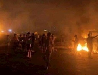 Tabriz, other cities, rise in support of Khuzestan in tenth day of protests