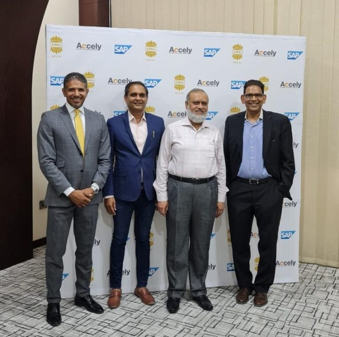 Ajmal Group signs Accely for Digital Transformation