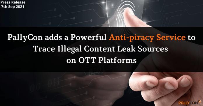 PallyCon adds a powerful Anti-piracy service