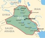 Iraq Baghdad mappa
