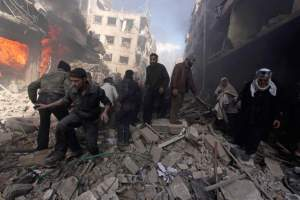 Douma, febbraio 2015. Mohammed Badra/Reuters