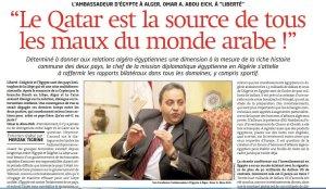 EGitto Algeria Qatar