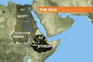 diga tra etiopia, Sudan ed Egitto