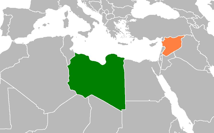 siria libia