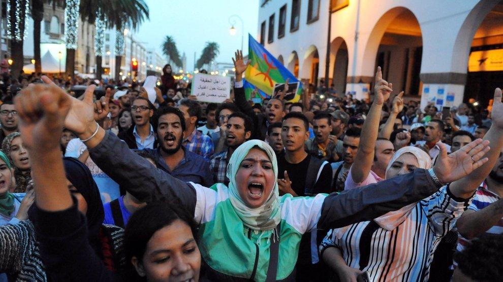 marocco-proteste