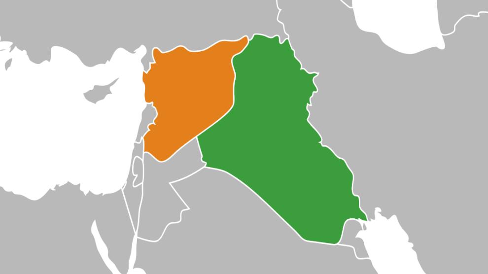 siria-iraq-map