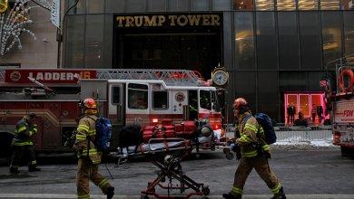 Photo of وفاة شخص واصابة 5 آخرين في اندلاع حريق ببرج ترامب بنيويورك