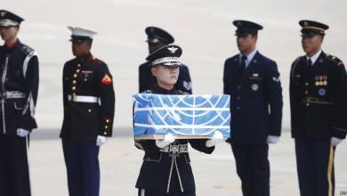 Photo of كوريا الشمالية تسلم واشنطن رفات جنود أميركيين