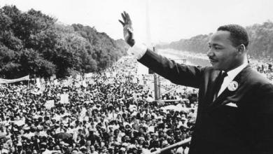 Photo of مارتن لوثر كينج.. 55 عامًا على ميلاد حلم لا يموت