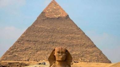 """Photo of الهرم الأوسط من الاهرامات المصرية """"خفرع"""" يستعد لاستقبال الزائرين من الأسبوع القادم"""