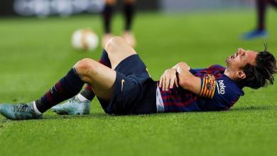 Photo of برشلونة : ميسي يغيب عن الملاعب 3 أسابيع بسبب اصابته بكسر في ذراعه الأيمن