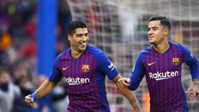 """Photo of بعد """"هاتريك"""" الكلاسيكو أمام ريال مدريد .. سواريز يدخل تاريخ برشلونة"""