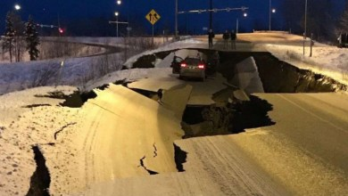 Photo of زلزال بقوة 7 درجات على مقياس ريختر يضرب ألاسكا