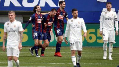 Photo of ريال مدريد خارج الإطار بهزيمة مُذِلّة أمام إيبار