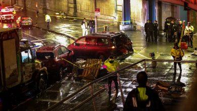 Photo of سائق أمريكى يقتل شخصا ويصيب 5 آخرين خلال ركن سيارته فى نيويورك