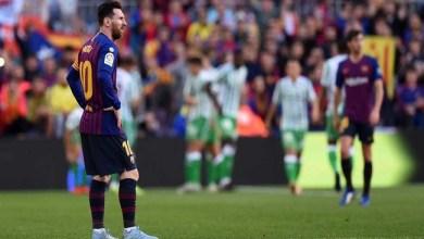Photo of ميسي يعود للملاعب بهدفين .. وبرشلونة يسقط أمام ريال بيتيس