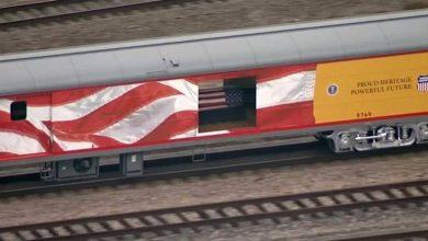 Photo of قطار تاريخي يحمل جثمان الرئيس الأميركي الأسبق بوش الأب لمثواه الأخير