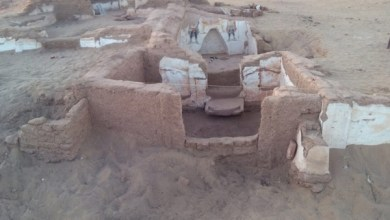 Photo of مصر : إكتشاف مقبرتين أثريتين من العصرالروماني