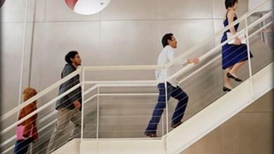 Photo of دراسة طبية : صعود الدرج (السلم ) يؤدي الى تحسين صحة القلب