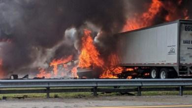 Photo of مصرع 7 وإصابة ثمانية أشخاص في حادث مروري بولاية فلوريدا الأميركية
