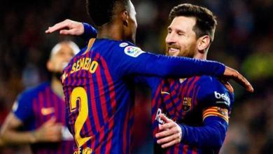 """Photo of """"ميسي"""" يقود برشلونة لدور الثمانية ..بالفوز 3-0 على ليفانتي في كأس إسبانيا"""
