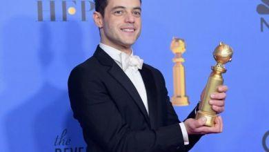 """Photo of الأميركي من أصل مصري """" رامي مالك """" يفوز بجائزة """"جولدن جلوب"""" لأفضل ممثل"""
