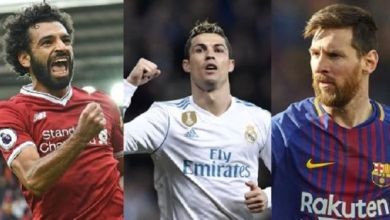 Photo of نجوم الكرة العالمية يتنافسون على الحذاء الذهبي في أوروبا .. تعرف عليهم