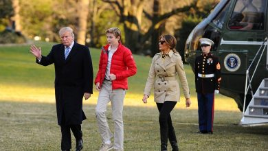 Photo of عودة ترامب وعائلته إلى واشنطن بعد عطلة نهاية الأسبوع في فلوريدا