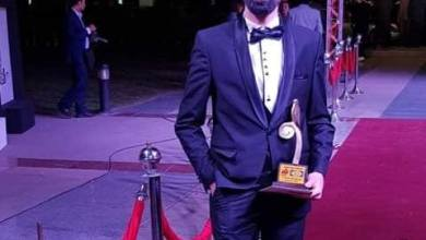 "Photo of رامي نادر في مسرح ""أمين وشركاه"""