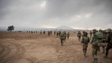 Photo of الجيش الإسرائيلي يستعد لمواجهة التوتر المحتمل بمرتفعات الجولان