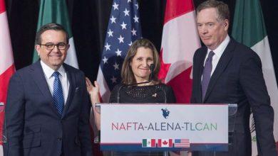 Photo of أمريكا تتعهد بإقرار اتفاق التجارة الحرة الجديد مع كندا والمكسيك هذا العام