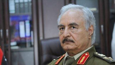 Photo of حفتر يستبعد وقف لإطلاق النار حاليًا في ليبيا