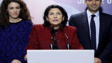 Photo of رئيسة جورجيا ترفض فكرة بناء قاعدة عسكرية أمريكية في بلادها
