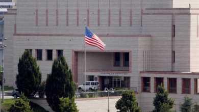 Photo of سقوط صاروخ بالقرب من سفارة واشنطن ببغداد