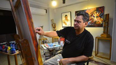Photo of الفنان التشكيلي المصري د. طاهر عبد العظيم في حوار خاص لراديو صوت العرب من أمريكا