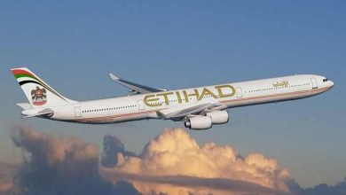 "Photo of ""الاتحاد"" الإماراتية تعلق رحلاتها الجوية فوق مضيق هرمز وخليج عمان"