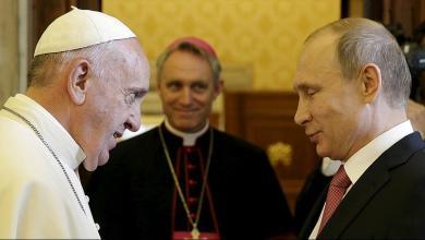 Photo of بوتين يتوجه إلى الفاتيكان للقاء البابا فرنسيس