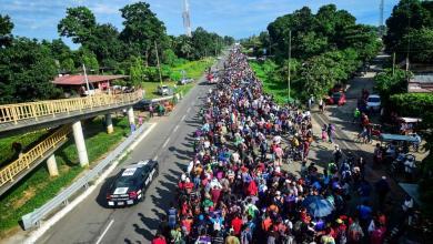 Photo of المكسيك: انخفاض أعداد المهاجرين الراغبين في دخول أمريكا بنسبة 30%