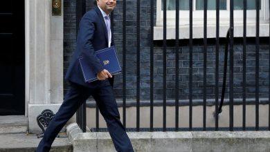 Photo of وزير الخزانة البريطاني يكثف الاستعدادات لبريكست دون اتفاق